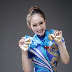 黄晋萱 国际级运动健将 健美操世界冠军 国内健美操唯一的女冠军 荣获健美操一姐称号 黄晋萱
